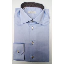 ETON Pure Cotton Blue or White Shirt in Tailored Fit