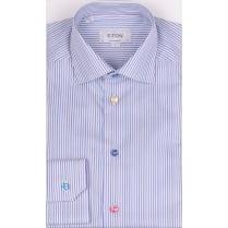 ETON Luxury Cotton Multi Striped Long Sleeved Shirt