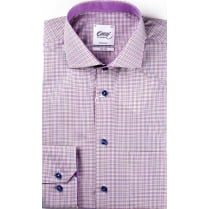 OSCAR Two Fold Cotton Fine Multi Check Shirt