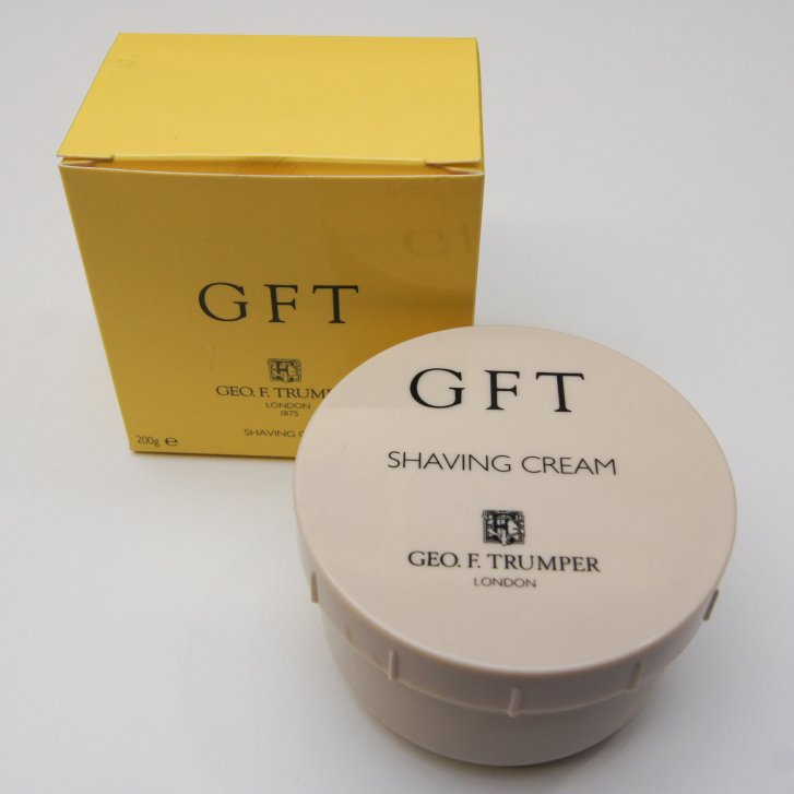 GEO F TRUMPER 200g GFT Shaving Cream in a Screw Thread Bowl