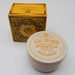 200g Sandlewood Shaving Cream in a Screw Thread Bowl