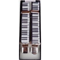 Adjustable Clip Braces with Piano Keys