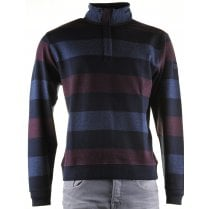 Cotton Broad Striped Knitwear