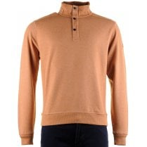 Mustard Coloured Cotton Mix Sweatshirt