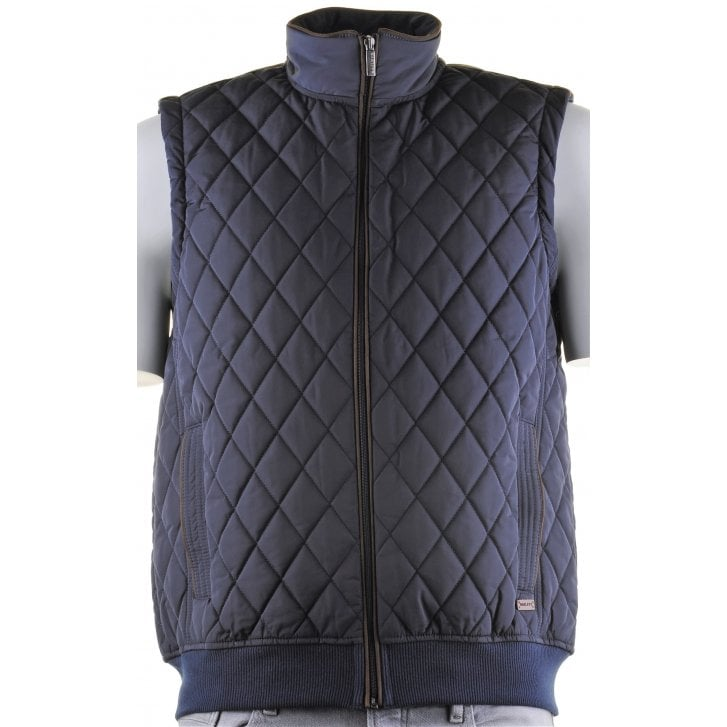 BAILEYS Quilted Body Warmer with Cloth Back and Side Pockets