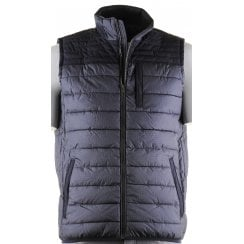 Quilted Body Warmer withThree Outside Zip Pockets