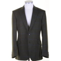 Green Tweed Tailored Sports Jacket