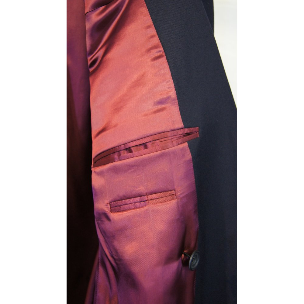 Mens suits double breasted one button
