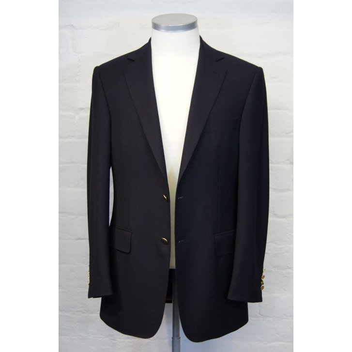 BLADEN Mens Single Breasted Pure Wool Blazer