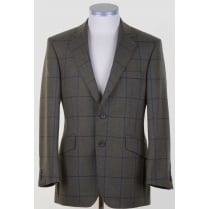 Supasax Lite Tweed Tailored Jacket with Overcheck