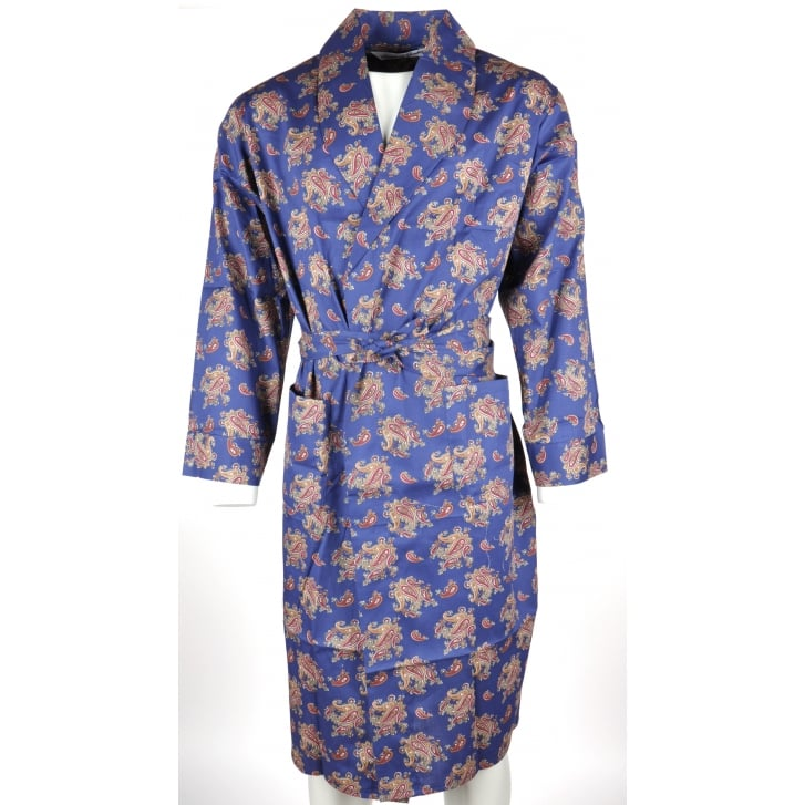 Bown Light Weight Paisley Dressing Gown from Armstrongs of Worcester