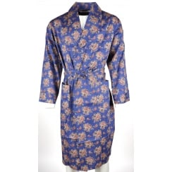 Light Weight Dressing Gowns in Blue or Red Paisley