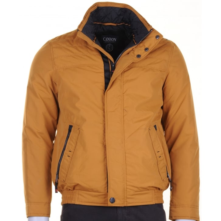 CANSON Aqua Tex Blouson in Mustard or Taupe