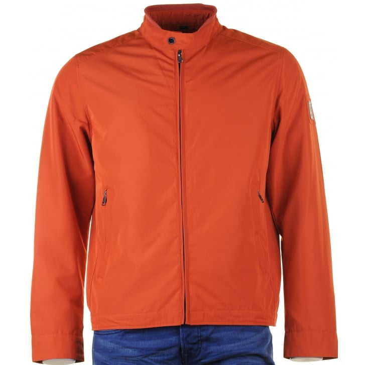 CANSON Aqua Tex Zipped Blouson in Orange