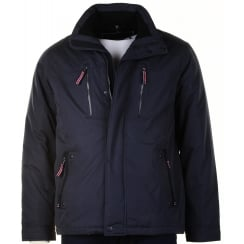 Warm Light Weight Water Repellant Navy or Wine Coat