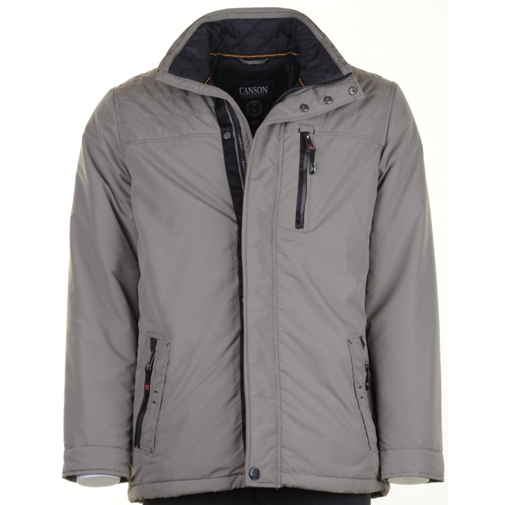 CANSON Water Repellant Warm Light Weight Coat