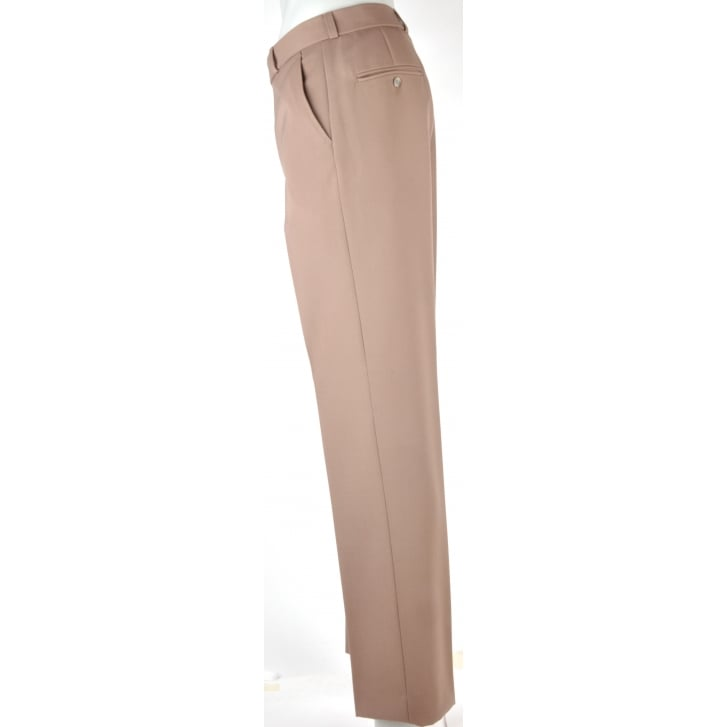 GURTEEN Classic Fit Stretch Calvary Twill with Two Side Pockets