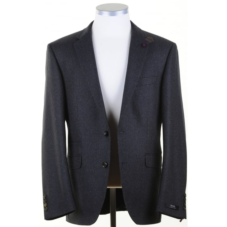 DIGEL Green and Navy Tweed Sports Jacket