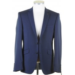 Mens Two Piece Wool Single Breasted Tailored Suit
