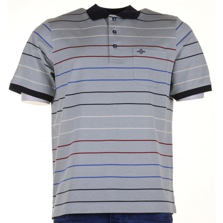 Baileys egyptian cotton polo shirt from armstrongs of for Stiff collar polo shirt