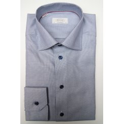 Cotton End on End Pattern Shirt