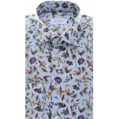 Cotton Fancy Designed Tailored Shirt