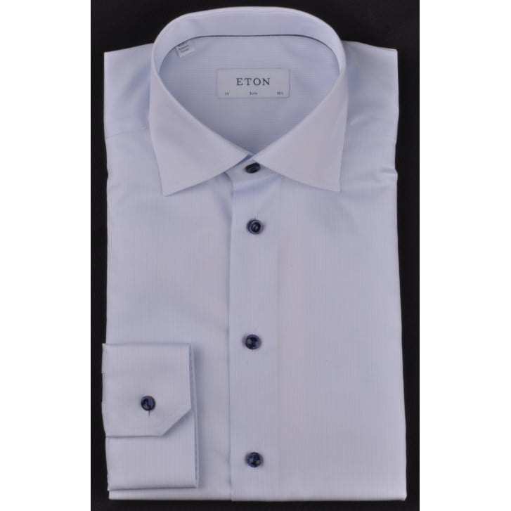Luxury Cotton Fine Self Stripe Shirt