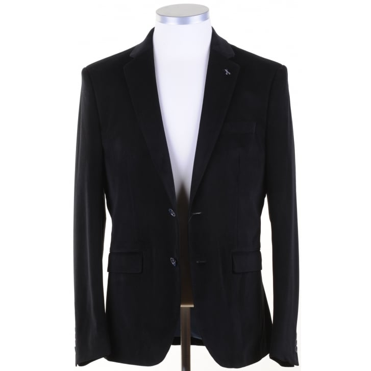 FALABELLA Mens Black or Wine Fine Chenille Cloth Jackets