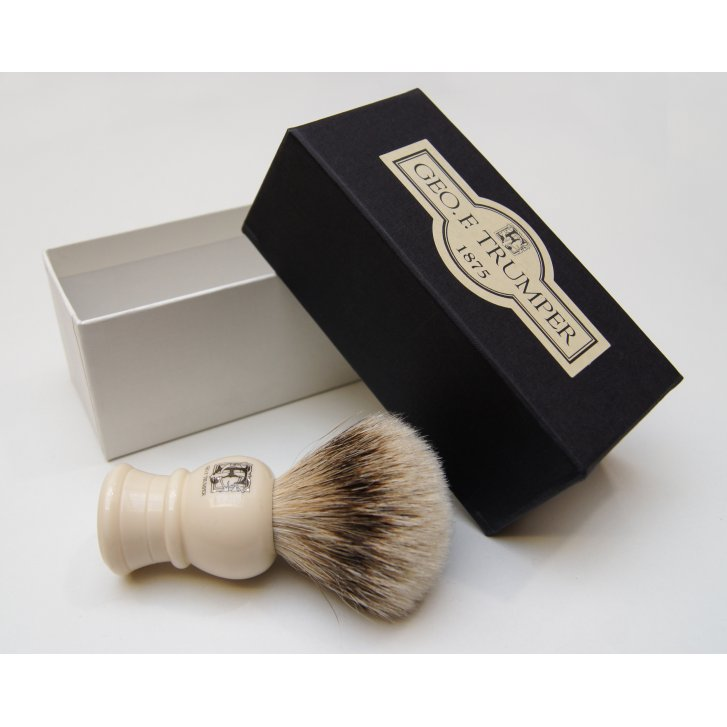 GEO F TRUMPER Super Badger Small Shaving Brush