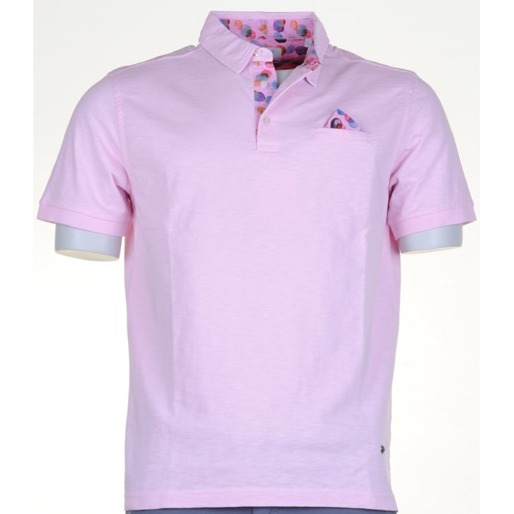 GIORDANO Cotton Slim Fit Polos with Trim