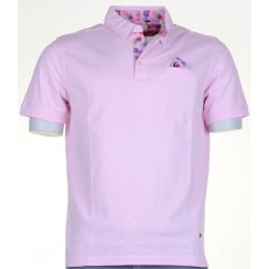 Cotton Slim Fit Polos with Trim