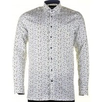 Cotton Tailored Shirt with Bugs Design