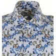 GIORDANO Cotton Tailored Shirt with Square Pattern Design
