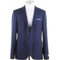 Tailored Navy Single Breasted Blazer