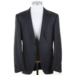 Green and Navy Tweed Sports Jacket