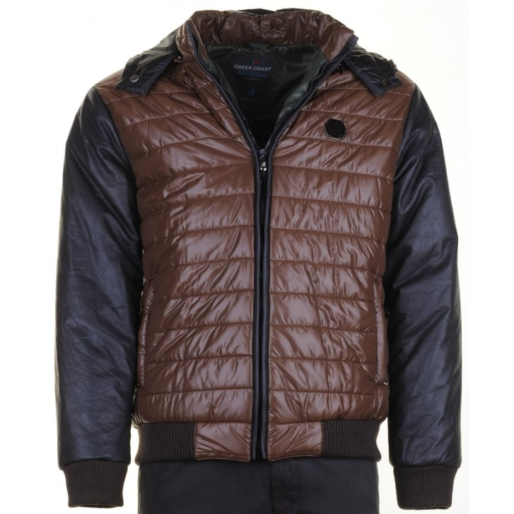 GREEN COAST Light Weight Warm Quilted Jacket