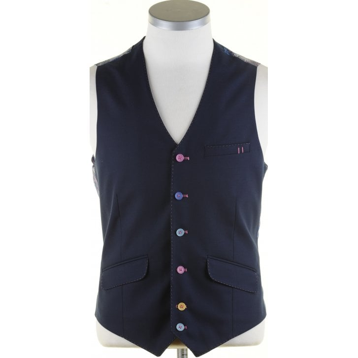 GUIDE Navy Light Weight Single Breasted Waistcoat