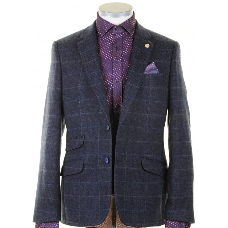 GUIDE Tailored Fit Navy Sports Jacket