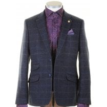 Tailored Fit Navy Sports Jacket