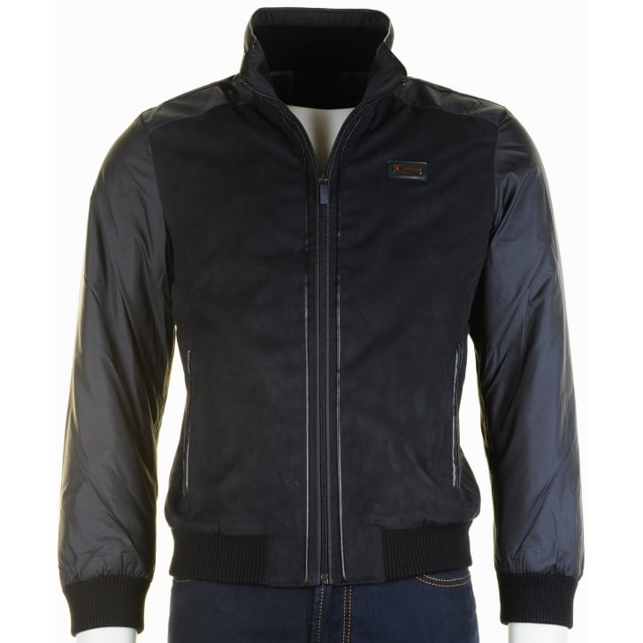 IMPULSO Italian Quilted Jacket in Navy