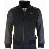 Italian Quilted Jacket in Navy