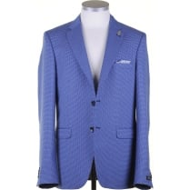 Light Weight Blue Houndstooth jacket