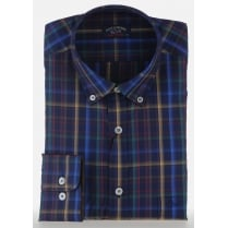 Luxury Cotton Multi Check Shirt