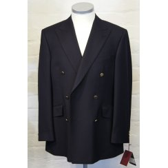 Mens Double Breasted Button Pure Wool Blazer