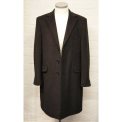 Mens Luxury Wool and Cashmere Classic Overcoat