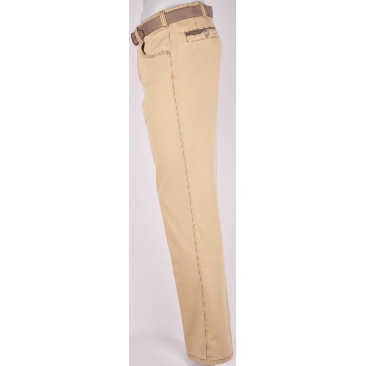 MEYER Fine Textured Cotton Stretch Chino