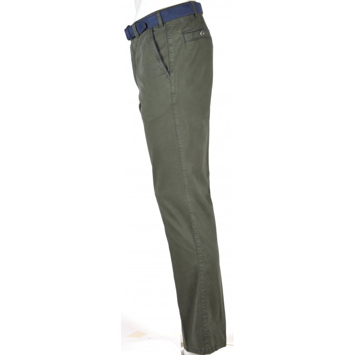 MEYER Stretch Cotton Chino Tailored Fiting in New York style
