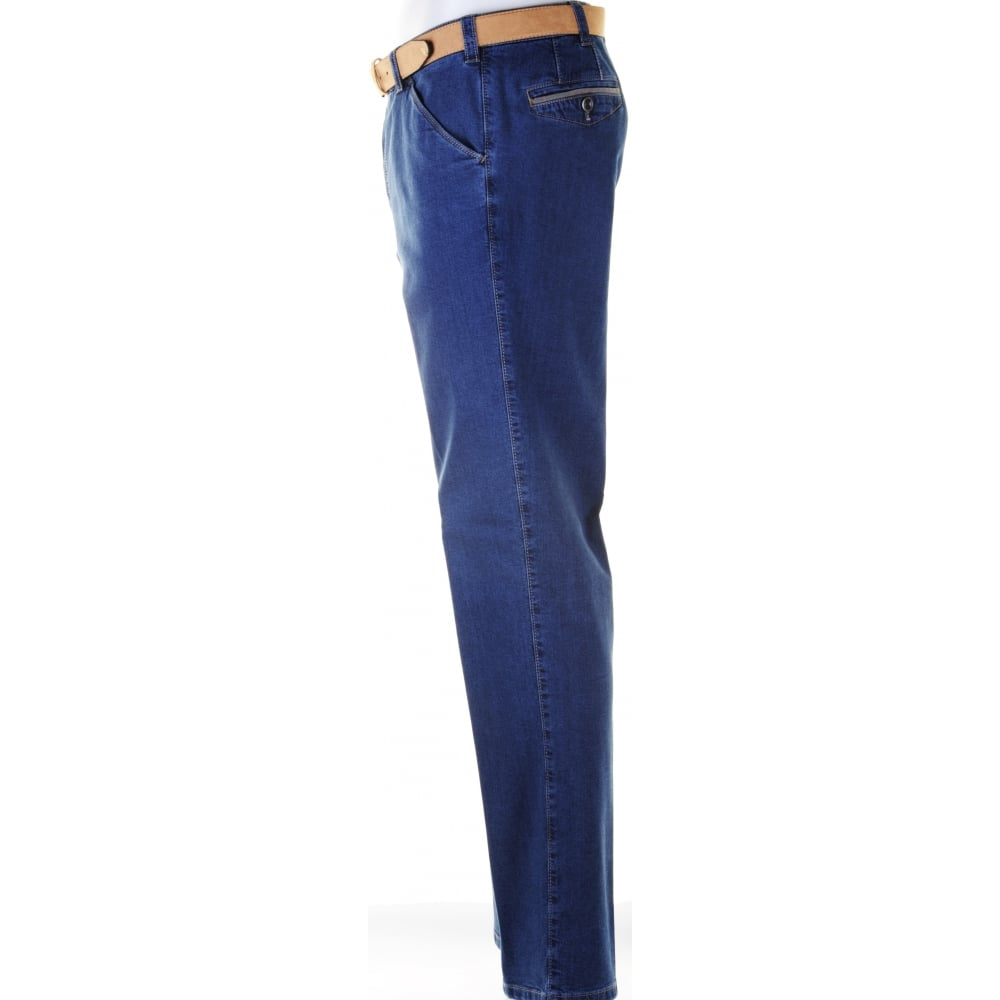 MEYER Stretch Cotton Jean in Trouser Style - MEYER from Armstrongs of Worcester Ltd. UK
