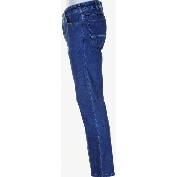 MEYER MMX Slim Cut Stretch Denim Jeans