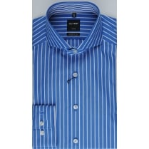 Blue Butchers Stripe Cotton Shirt